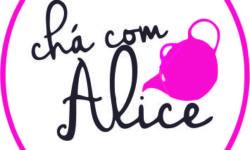 Logo chá com alice