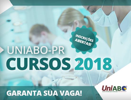 Cursos UniABO-PR 2018 – Inscrições abertas