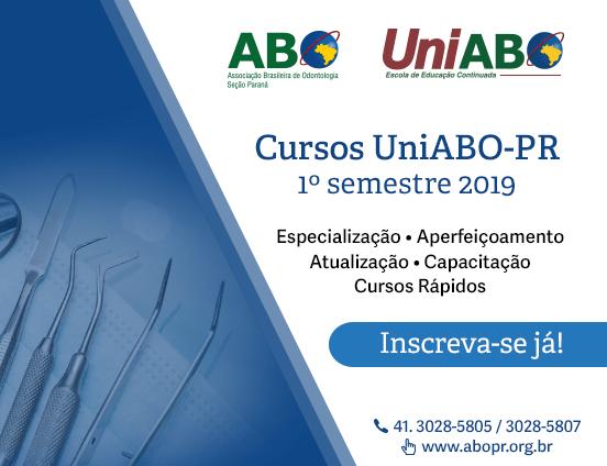 Cursos UniABO-PR 2019 – Inscrições abertas