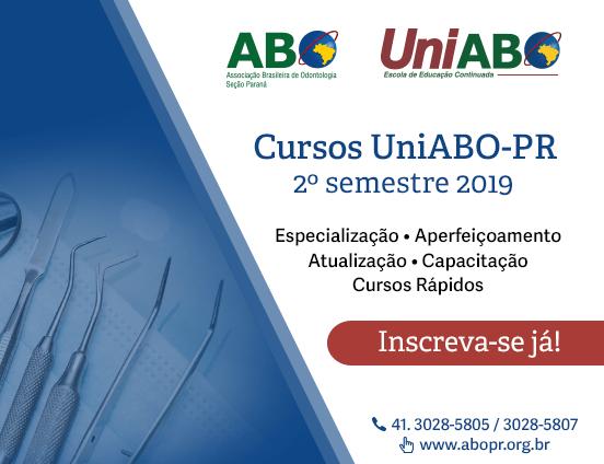 Cursos UniABO-PR 2º Semestre de 2019 – Inscrições abertas