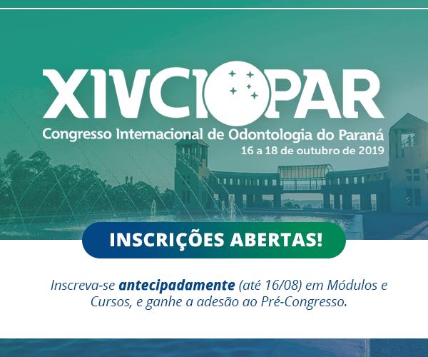 XIV CIOPAR – Inscrições abertas