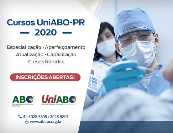 Cursos UniABO - 2020 - Inscrições abertas