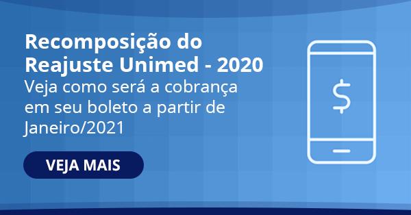 Comunicado recomposição do reajuste - Unimed Curitiba