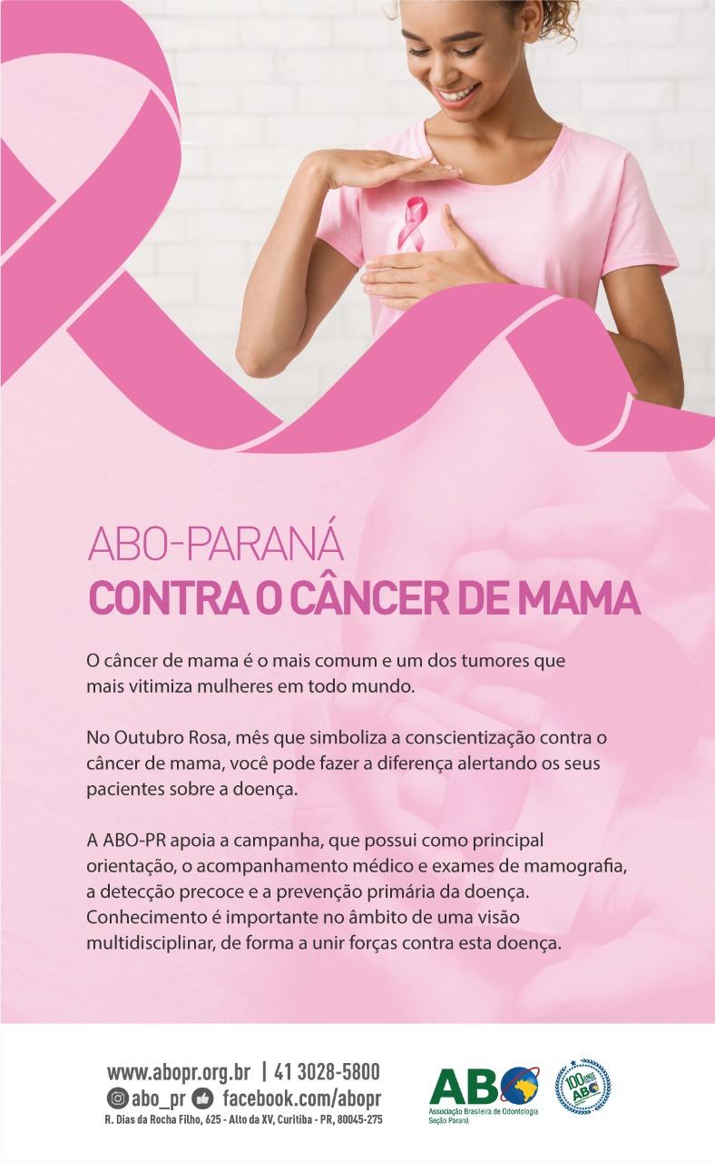 ABO-PARANÁ contra o câncer de mama